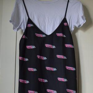 Bubble gum dress.